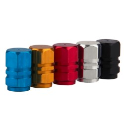 Aluminum Car Wheel Tire Valves Caps 4pcs