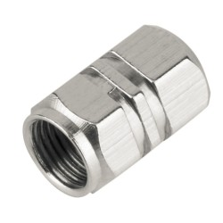 Tapas de Válvula Neumáticas de Aluminio 4pcs