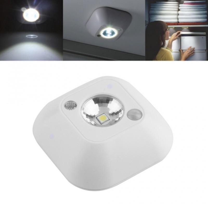 Mini Luz Nocturna Inalámbrica con Sensor Infrarrojo