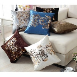 Golden Pint Pillowcase Cushion Cover Velour 45 * 45cm