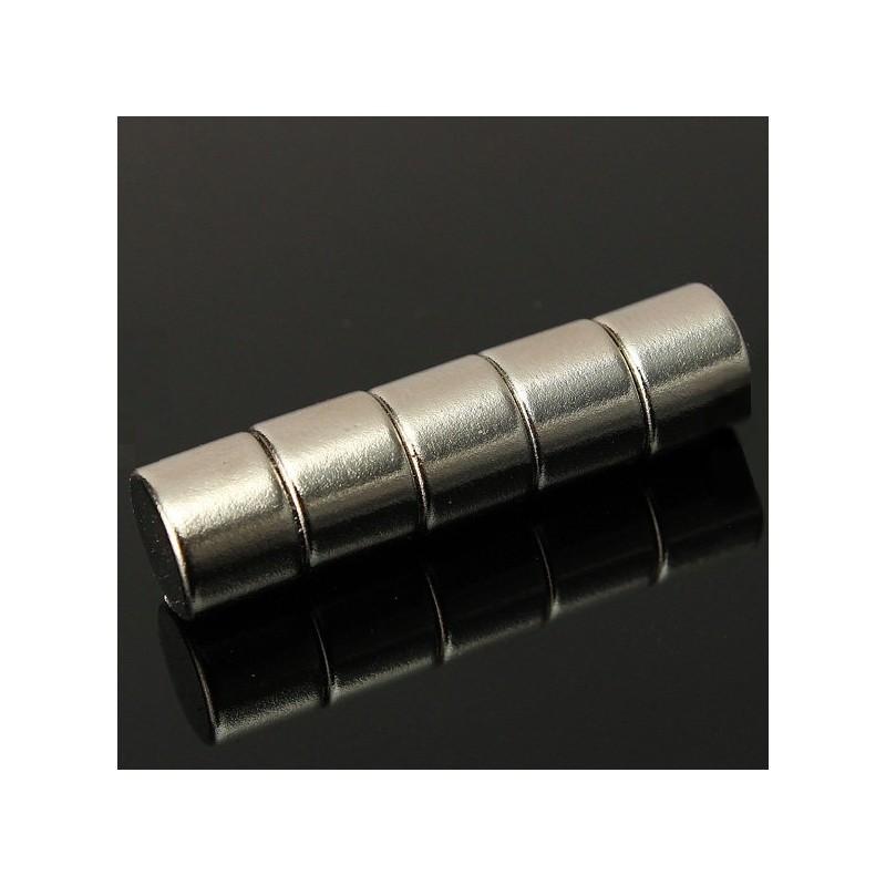 N35 Neodymium Magnet Strong Round Disc 10 x 8mm 5pcs