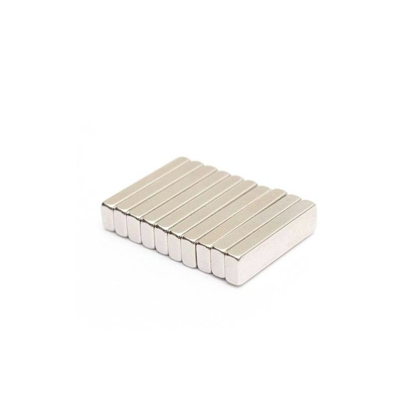 N35 Neodymium Magnet Strong Cuboid Block 20 * 5 * 3mm 10pcs