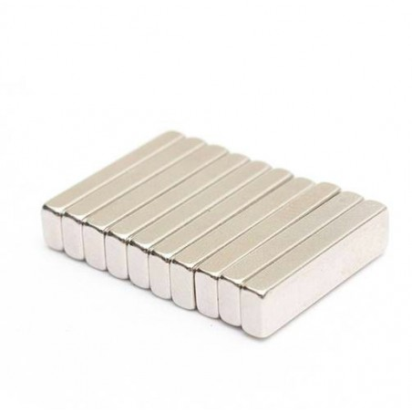 N35 Neodymium Magnet Strong Block 20 * 5 * 3mm 10pcs |