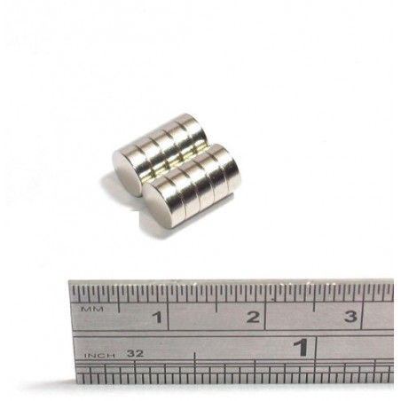 N35 Neodymium Magnet Strong Cilinder 6 * 2mm 5pcs |