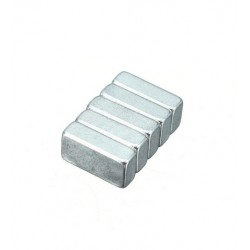 N35 Neodymium Magnet Strong Cuboid 10 * 5 * 3mm 25pcs