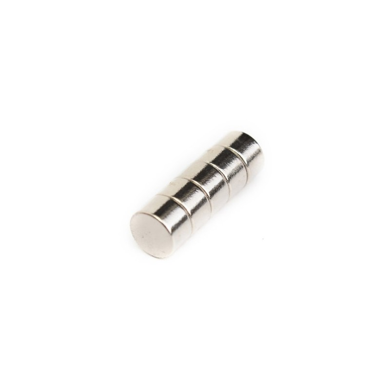 N52 Neodymium Magnet Strong Round Disc 8 * 5mm 5pcs
