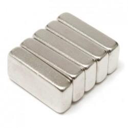 N35 Neodymium Magnet Strong Block 20 * 10 * 5mm 5pcs