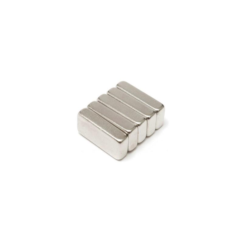 N35 Neodymium magnet strong block 20 * 10 * 5mm 5 pcs