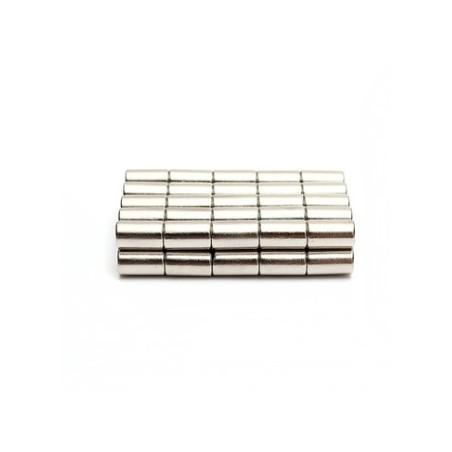 N50 Neodymium Magnet Strong Disc 6 * 10mm 50pcs