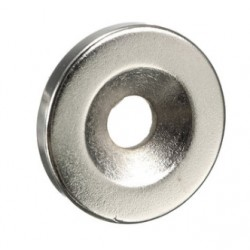 N35 Neodymium magnet countersunk ring disc with 5mm hole 20 * 3mm 10 pieces