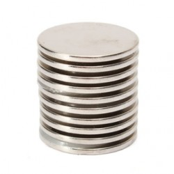 N35 Neodymium magnet - strong round disc 25 * 2mm 10 pieces