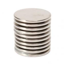 N35 Neodymowy magnes - silny okrągły dysk 25mm * 2mm 10 sztuk