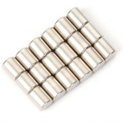 N35 Neodymium Magnet Strong Rod 3 * 4mm 20pcs