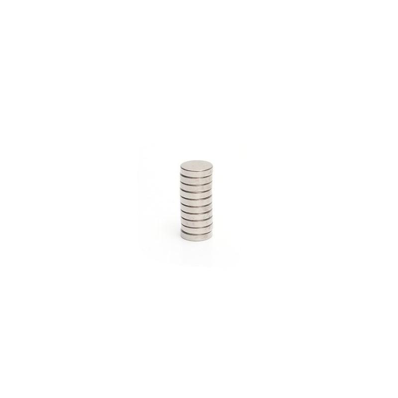 N35 Neodymium Magnet Round Disc 12 * 3mm 10pcs