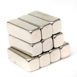 N35 Neodymium Magnet Strong Block 12 * 4 * 4mm 10pcs
