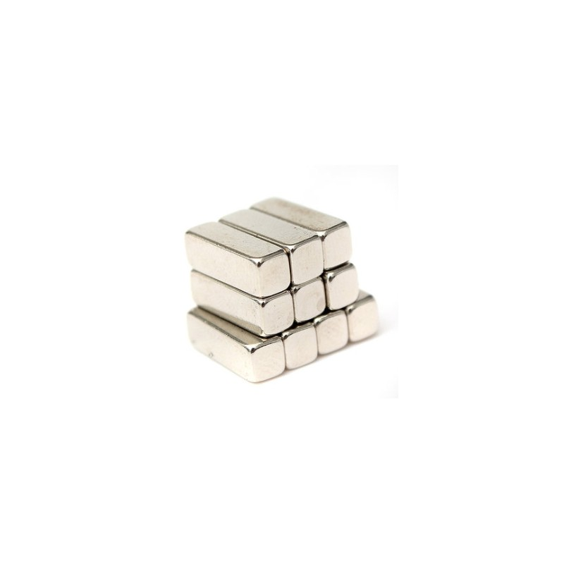 N35 Neodymium magnet - strong block 12 * 4 * 4mm 20 pieces