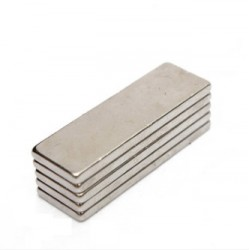 N35 Neodymium Magnet Strong Cuboid Block 30 * 10 * 2mm 5pcs