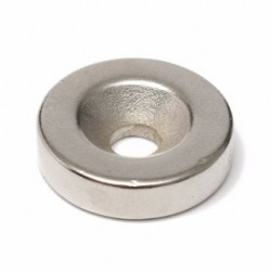 N50 Neodymium Magnet Strong Ring Countersunk With 5mm Hole 20 * 5mm 10pcs