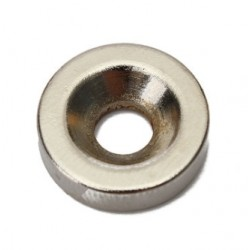 N50 Neodymium Magnet Strong Round Countersunk Ring With 5mm Hole 15 * 4mm 20pcs