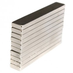 N50 Neodymium Magnet Strong Block Cuboid 60 * 10 * 4mm 5pcs