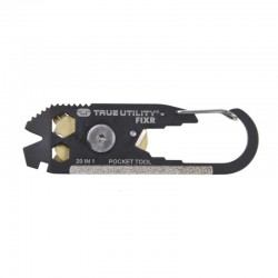 20 in1 Portable Mini Utility FIXR Pocket Multi Tool Keychain Key Ring