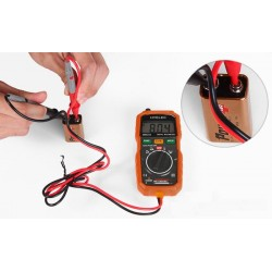 Non-Contact Mini Digital Multimeter DC AC Voltage Current Tester