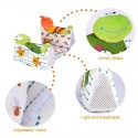 Baby Infant Frog Cartoon Anti Roll Pillow Cushion Side Sleep Positioner