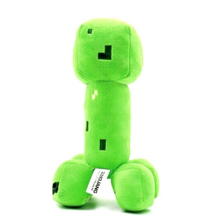 18cm Minecraft Creeper Plush Toy Green JJ Dolls