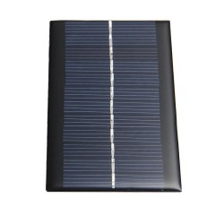 Mini Solarpanel 1W 6V - Batterie