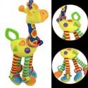 Soft Giraffe Animal Toy Baby Pram Bed Hanger