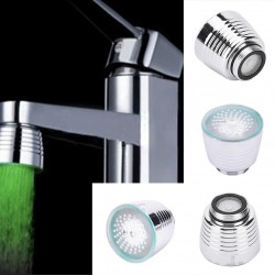 Luz LED para Lavabo con Sensor de Temperatura