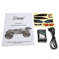 JLB Racing CHEETAH 1/10 Bürstenlos RC Auto Truggy 21101 RTR