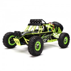 WLtoys 12428 2.4G 1/12 4WD Crawler RC Auto Met Led Licht |