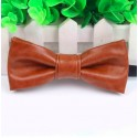 PU Leather Men's Bow Tie