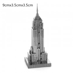 3D Empire State Building Metalen Puzzel |