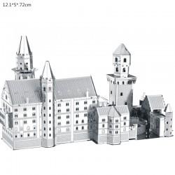 3D Neuschwanstein Metalen Puzzel