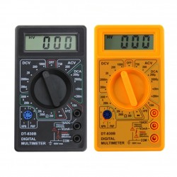 DT-830B LCD Digital Multimeter AC/DC 750/1000V Current Tester