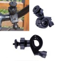 Bike Motorcycle Handlebar Clamp Mount Tripod Holder For GoPro Hero 4 3 2
