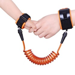 Toddler Kids Safety Anti Lost Wrist Link Cable Bracelet Kinderkord Walk Away Cord|