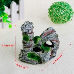 Aquarium Fish Tank Resin Rock Resin Cave