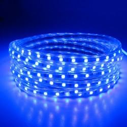 SMD 5050 AC 220V 60 LED Wodoodporne Elastyczne Światło Led Taśma & Wtyczka Zasilania
