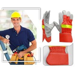 Vuurbestendig Hittebestendige Beschermende Handschoenen Met Reflecterende Riem
