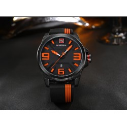 Fashion Sport 3D Dial Quartz Waterproof Men's Watch