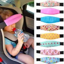 Pram Car Baby Head Sleep Positioner Fastening Belt Adjustable