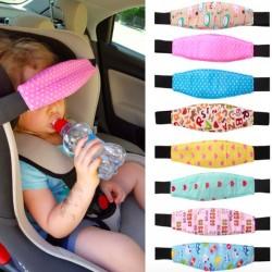 Wózek Samochód Dziecięcy Pozycjoner Głowy W Trakcie Snu Regulowany Pasek Mocujący