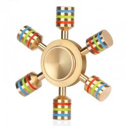 Metalen Regenboog Fidget Spinner Hand Spinner |