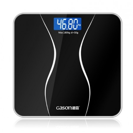 LCD Display Bathroom Body Scales Glass Electronic Digital Floor Weight