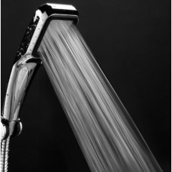 300 Holes High Pressure Chrome Shower Head