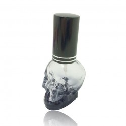 Botella Perfume 3D Mini Calavera 8ml