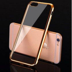 iPhone 5S - SE / 6 - 6S / 7 Plus Soft Silicon Flexible TPU Ultra Thin Back Cover Case